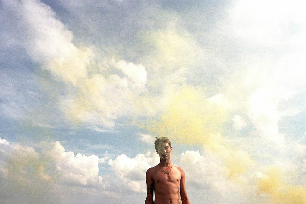 Ian and Smoke (Yellow), 2010