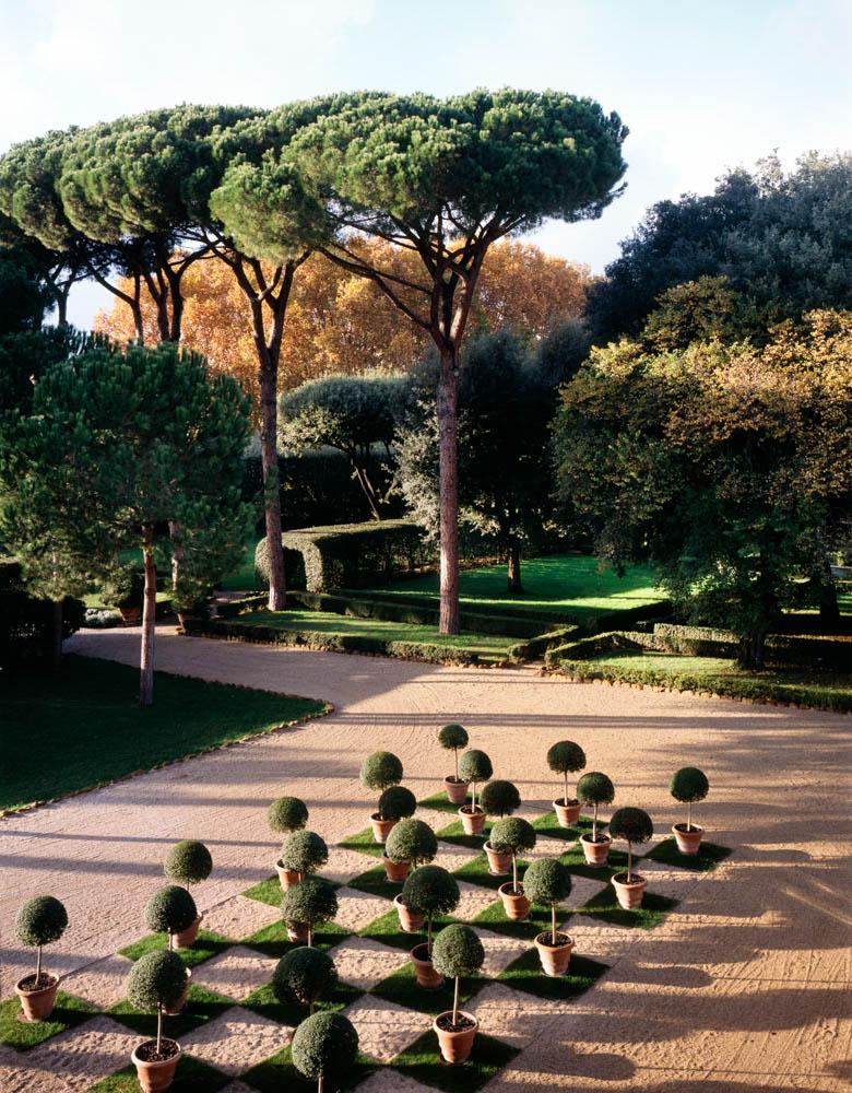 Garden at Villa Aurelia