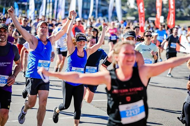 #City2Surf: Monday evening run inspiration 😃
