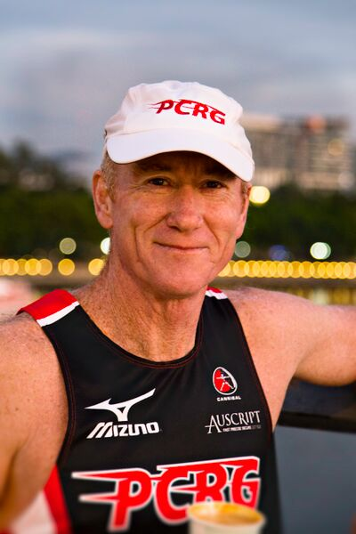 Pat Carroll, former elite runner