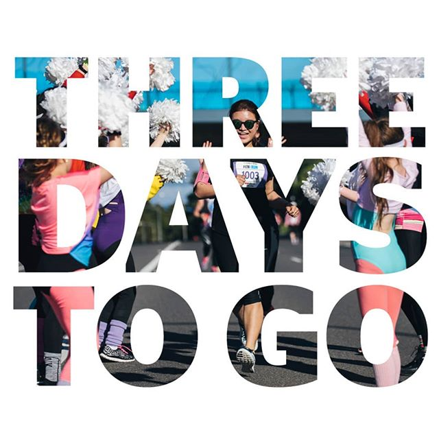 It's almost time! Three days to go until the #CanberraTimesFunRun