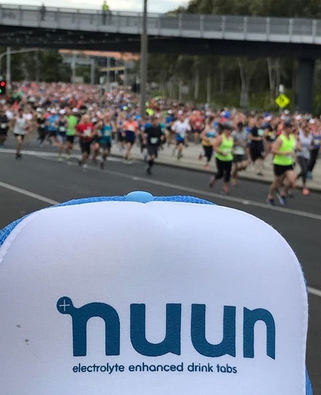 Make sure you NUUN IT UP in preparation for Canberra Times Fun Run this weekend. You will be getting some refreshing strawberry/lemonade nuun out on course to help you on your journey to the finish line. #nuunlife #makeyourwatercount