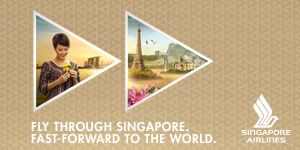 Singapore Airlines Web Banner