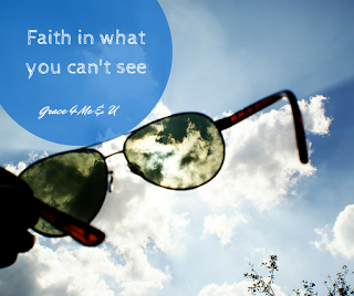 When your surround by a bad situation what do you do? Why not trust in what you can't see. Check out this blog post for a reminder of what God can do.  | Grace 4 Me & U