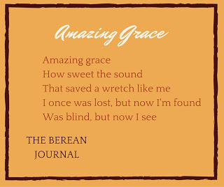Amazing Grace How sweet the sound.