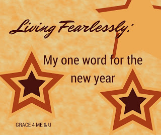 No resolutions for 2016, instead a theme. Living fearlessly. Join me as I look to follow where Jesus is leading. | Living Fearlessly