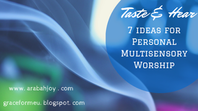 God gave each of us 5 senses. Why not use your senses while worshiping the creator? Check out this post for 7 ideas on how to incorporate Multisensory Worship into your personal quiet time.