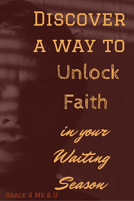Deal with the wait by praying for God's will. | Discover a way to Unlock Faith in your Waiting Season.