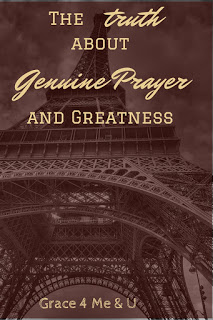 Remembering that prayer opens us up to greatness! | Ona C.