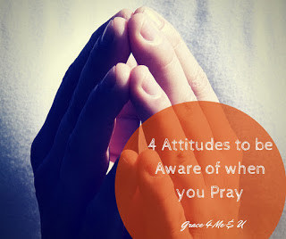 Prayer is deliberate communication with God. Deliberate means you have a choice, and I believe that you should choose your attitude when you pray. Using Jesus' teachings on Prayer learn about 4 attitudes to be aware of when you pray.