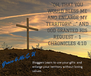 Join us for a Christian Blogging Bootcamp. A place to learn to enlarge your territory without losing your principles. Use Promo Code ONC10 for 10% off. | Grace 4 Me & U