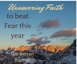 Unwavering faith beats fear!