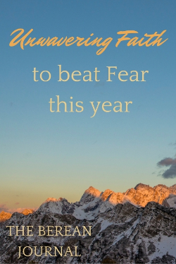 Unwavering Faith beats fear