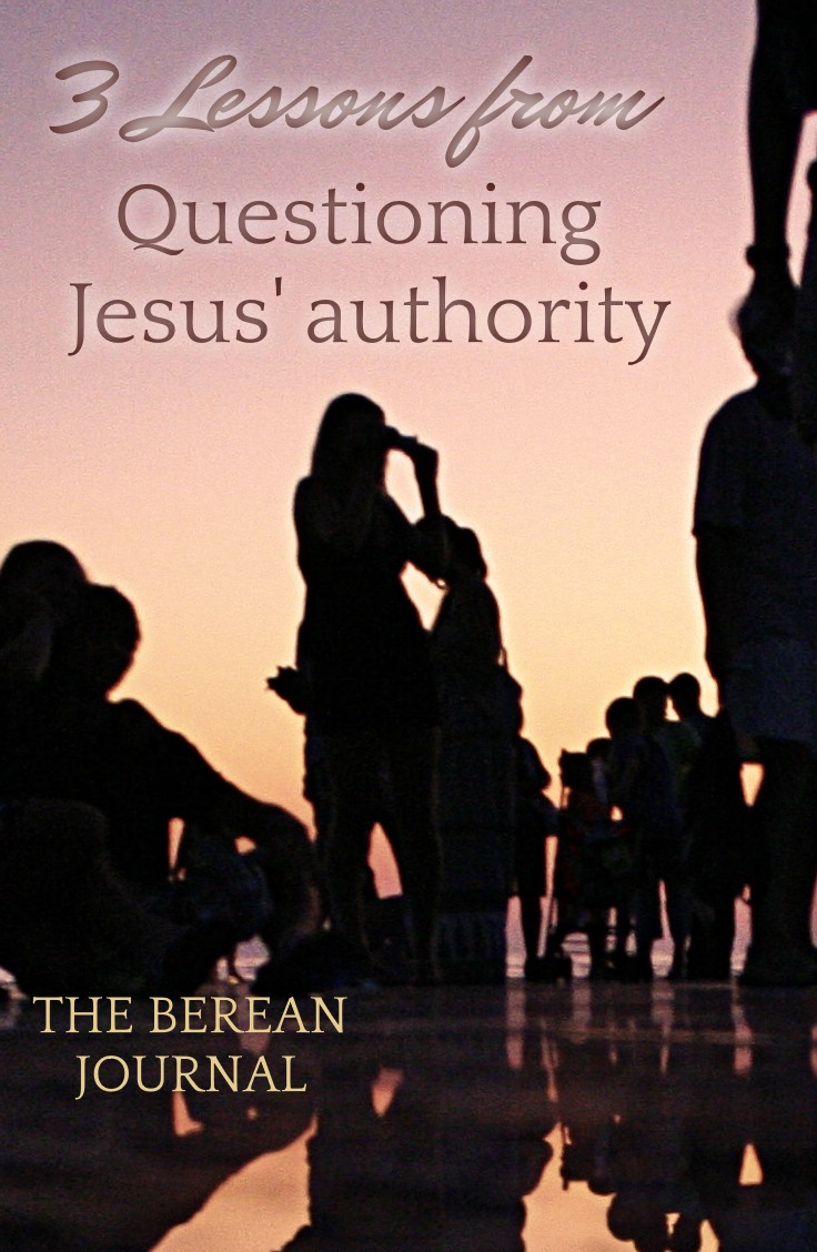 Who gives Jesus Christ his authority? The Bible is full of truth from Jesus' own words. Find out what he has to say when asked this question.