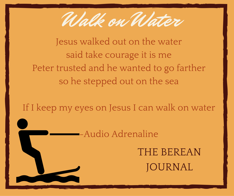 It is time to embrace your faith and build up your courage to be like Peter and walk on water. Looking at the bible verses and story of Peter walking on water to remind us that we should want to go farther in our walk.
