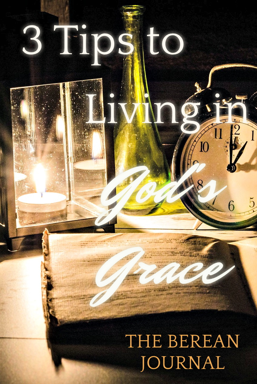 Living in God's grace ideas can be found in scripture. God's love for each of us doesn't hurt us, instead, it strengthens us. Check out these 3 ideas for living in God's grace, by accepting, resting in, and sharing his grace.