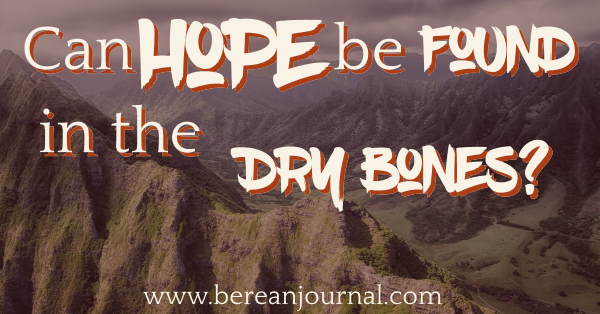 Hope can lead you to disappointment. All that disappointment can feel like death. Hope may not feel like all it has cracked up to be, but here are some truths from my Bible Study on dry bone hope. Join me as I open the scripture to see if Hope can live in the dry bones, and the valley of death? It might just be time for this lesson.