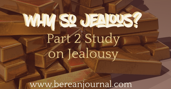 It is by God's grace that we can overcome the Cain complex of being jealous of what God has done for others. Check out this post about how to overcome jealousy.