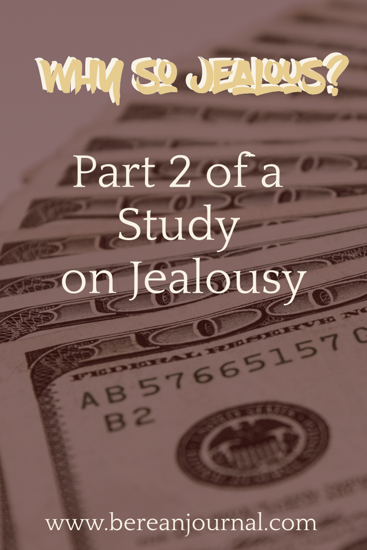 It is by God's grace that we can overcome the Cain complex of being jealous of what God has done for others. Check out this post about how to overcome jealousy. | IG - www.instagram.com/bereanjournal | Facebook - www.facebook.com/bereanjournal