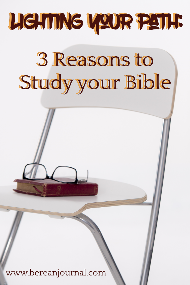 Bible Study should be an important part of your relationship with Christ. Here are 3 reasons Bible Study is important. | www.bereanjournal.com | www.facebook.com/bereanjournal | www.instagram.com/bereanjournal