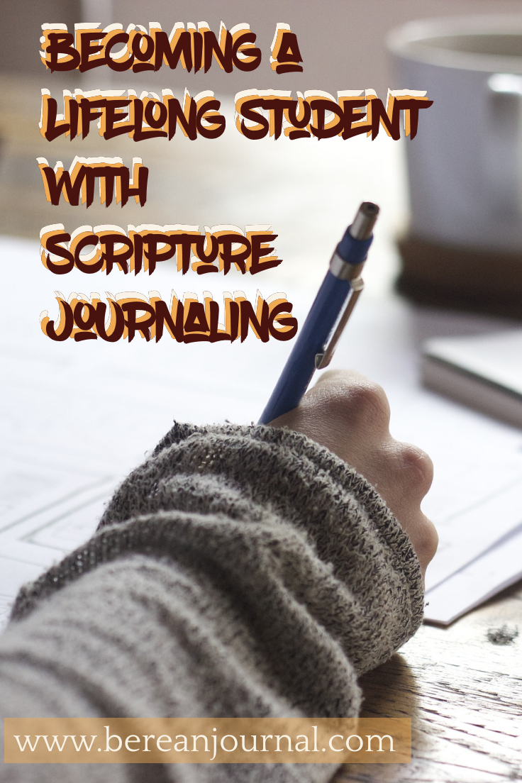 Do you want to grow in your knowledge of scripture? Does the idea of journaling sound like something you can do? Well, you can, and this post aims to help you get started in being a life long student.  | www.facebook.com\bereanjournal | www.instagram.com\bereanjournal