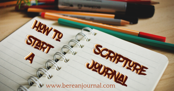 Starting a scripture journal may be scary, but it doesn't have to be. Start slow by picking a journal and doing the prep work. Find out how to prep your journal so you're ready to start strong. | www.pinterest.com/bereanjournal | www.instagram.com/bereanjournal