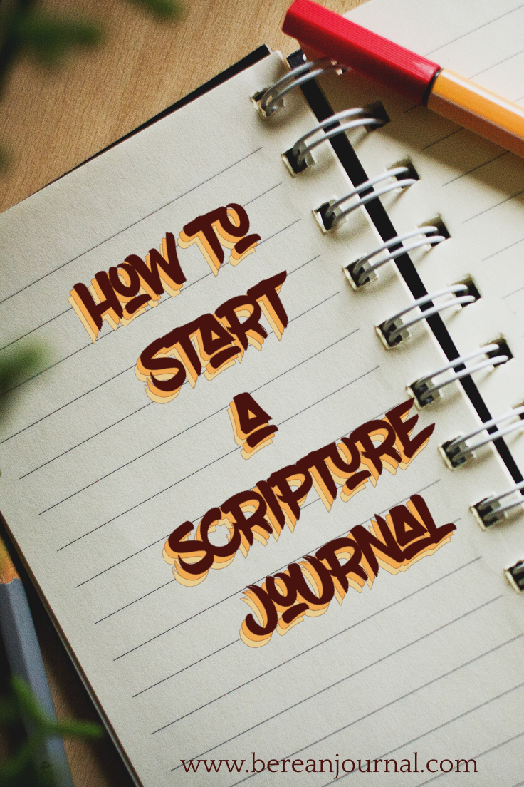 Starting a scripture journal may be scary, but it doesn't have to be. Start slow by picking a journal and doing the prep work. Find out how to prep your journal so you're ready to start strong. | www.facebook.com/bereanjournal | www.instagram.com/bereanjournal
