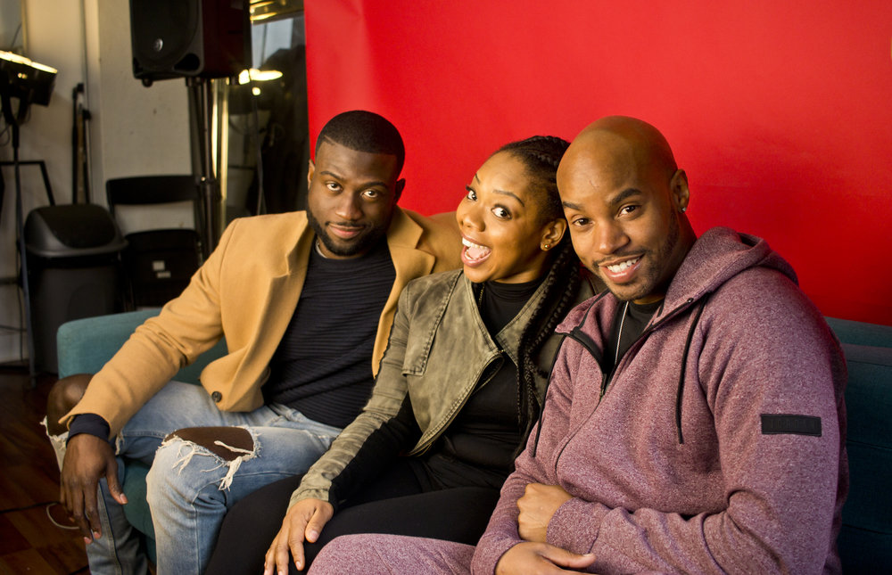 Sinqua Walls, Miss Lissa Knows & Antoine Harris