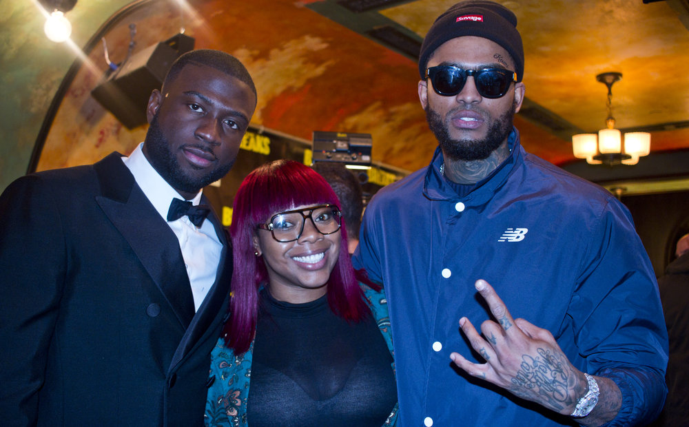 Sinqua Walls, Miss Lissa Knows & Dave East