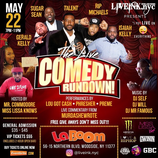 Today is the day!!! if you haven't clicked the link in @liveink.nyc's bio for tickets you can still get them at the door🔑  #kNOwComedy 🤣