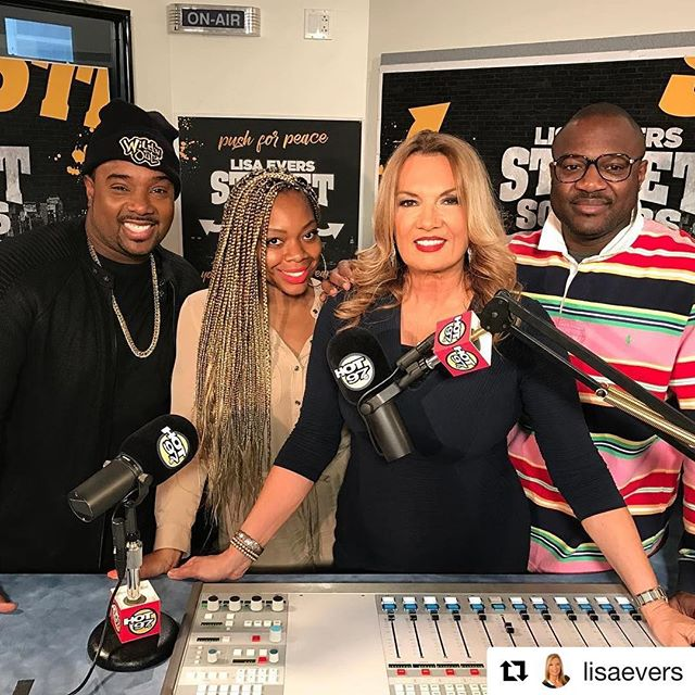 "Happy Fathers Day! Who's daddy is wearing a romper today??? Hope y'all caught today's episode of Street Soldiers🔑  #Repost @lisaevers  Join us Sunday #streetsoldiers @hot97 ""Male Romper Controversy"" @ripmicheals @misslissaknows @ibogard @michaelmedium @miabellenyc #hot97  Hair: @ben_hair_braiding.6462607273 Styled by: @danielleh_styles Lipstick: @myglamboxx  #MissLissaKnows 🎙  #GodIsMyPublicist 🙏🏾"