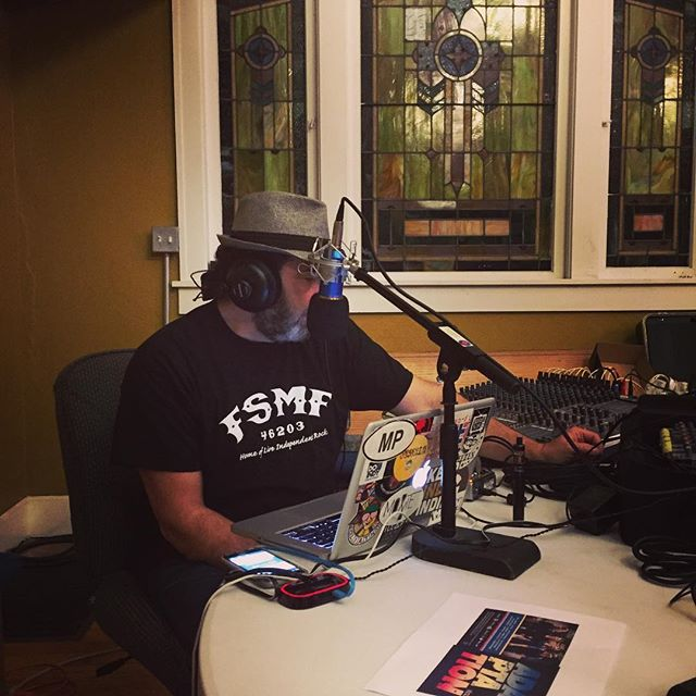 "Here at Grove Haus for the @doitindy_radio_hour. Tune in to hear @rconnmusic talk about our new album ""Adaptation."" #radio #interview #music #charity #indy #producer #producerlife #song #newmusic #songwriter #songwriterslife #studio #studiolife #internetradio #internet #cancersucks #doitindyradiohour"