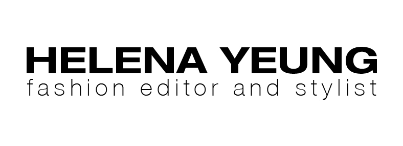 helena yeung - fashion editor and stylist