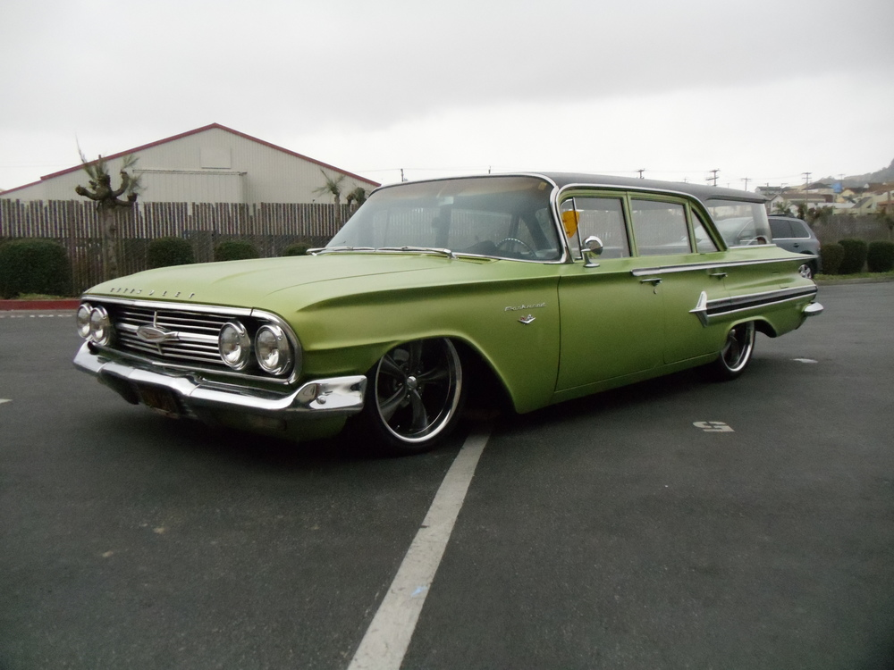 1960 Chevy Parkwood Station Wagon