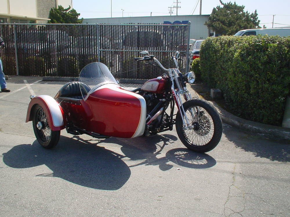 KCM American Classic with Champion Sidecar
