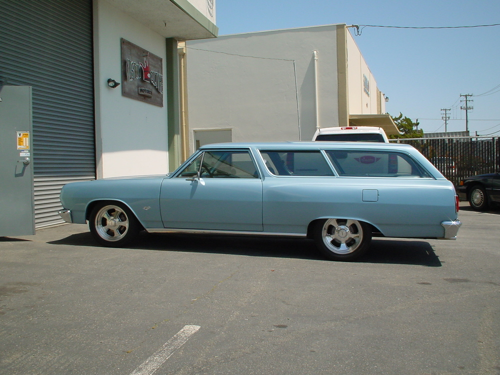 1965 Chevy Chevelle 2 door wagon