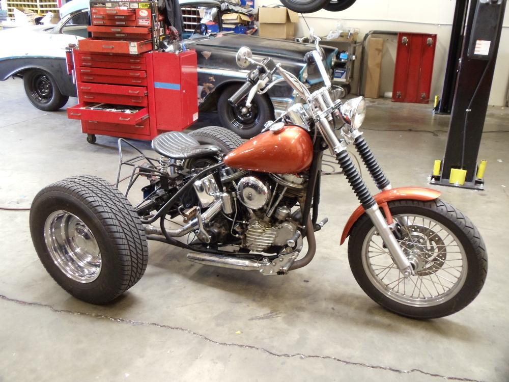 1965 Panhead Trike
