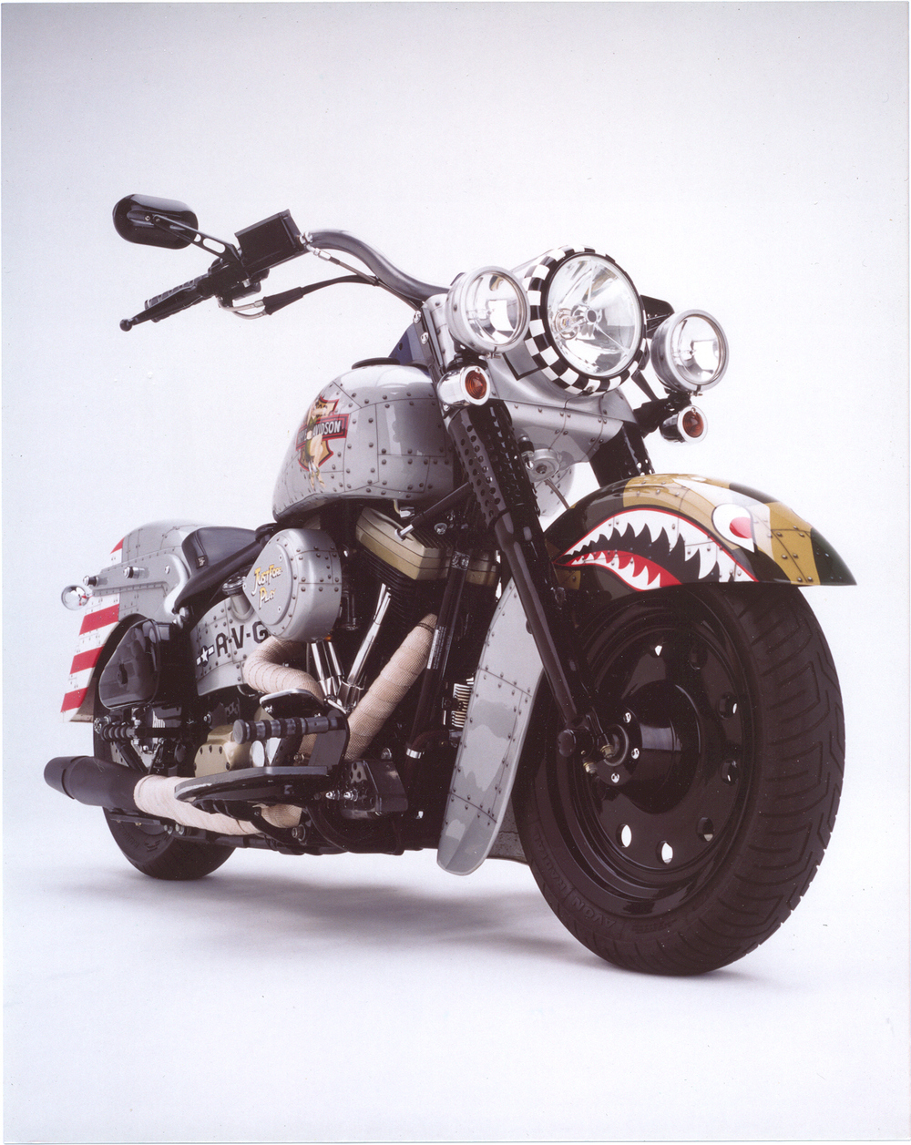 1991 HD Custom Softail.