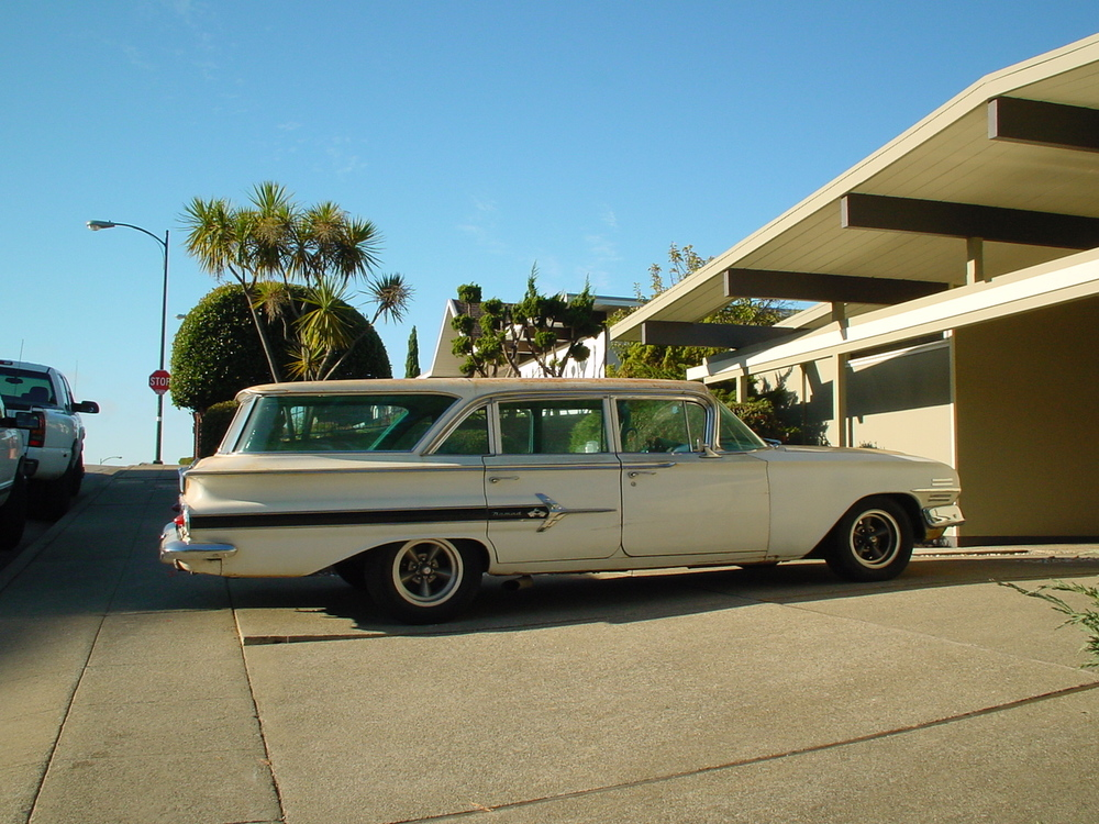1960 Chevy Nomad Station Wagon