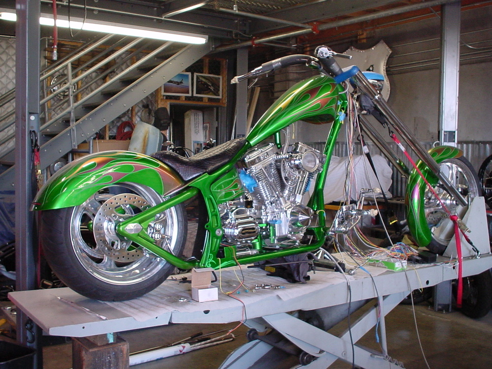 HD Custom Bike Build