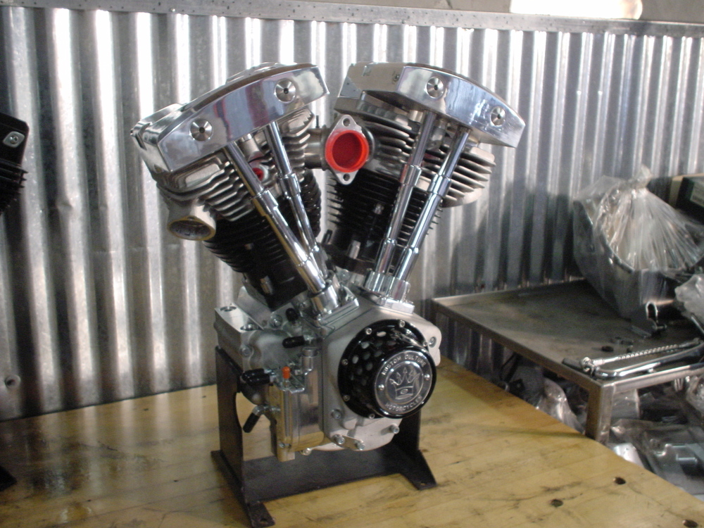 S&S High Output Shovelhead Engine
