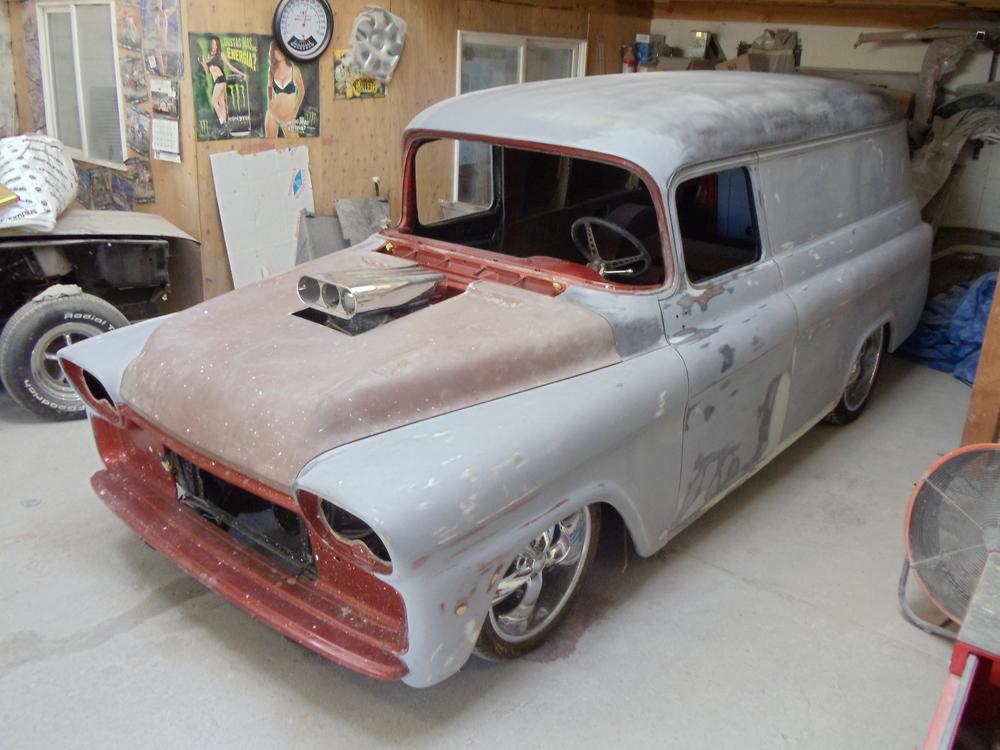 1958 Chevy Panel