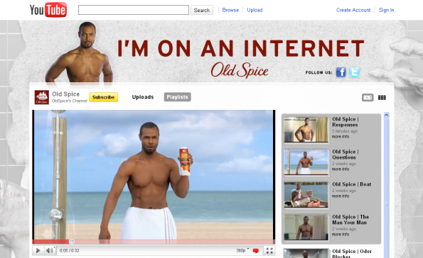Hey, the Old Spice guy!