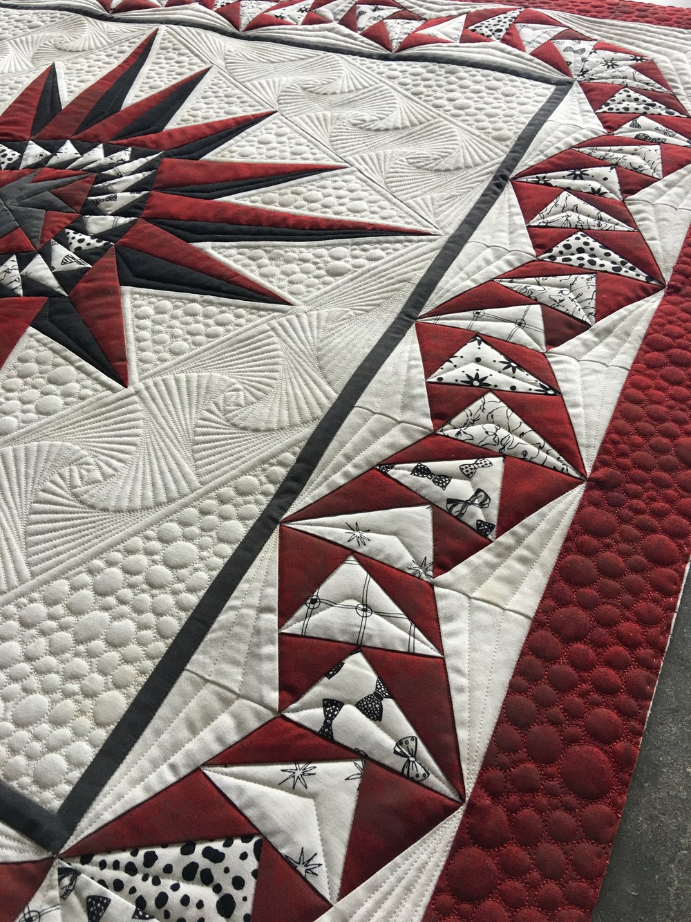 Free-Motion Custom Quilting Series - Class #2: Quilting with Rulers ...