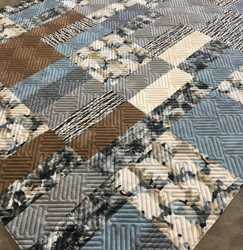 Quilting Design: Square Fold