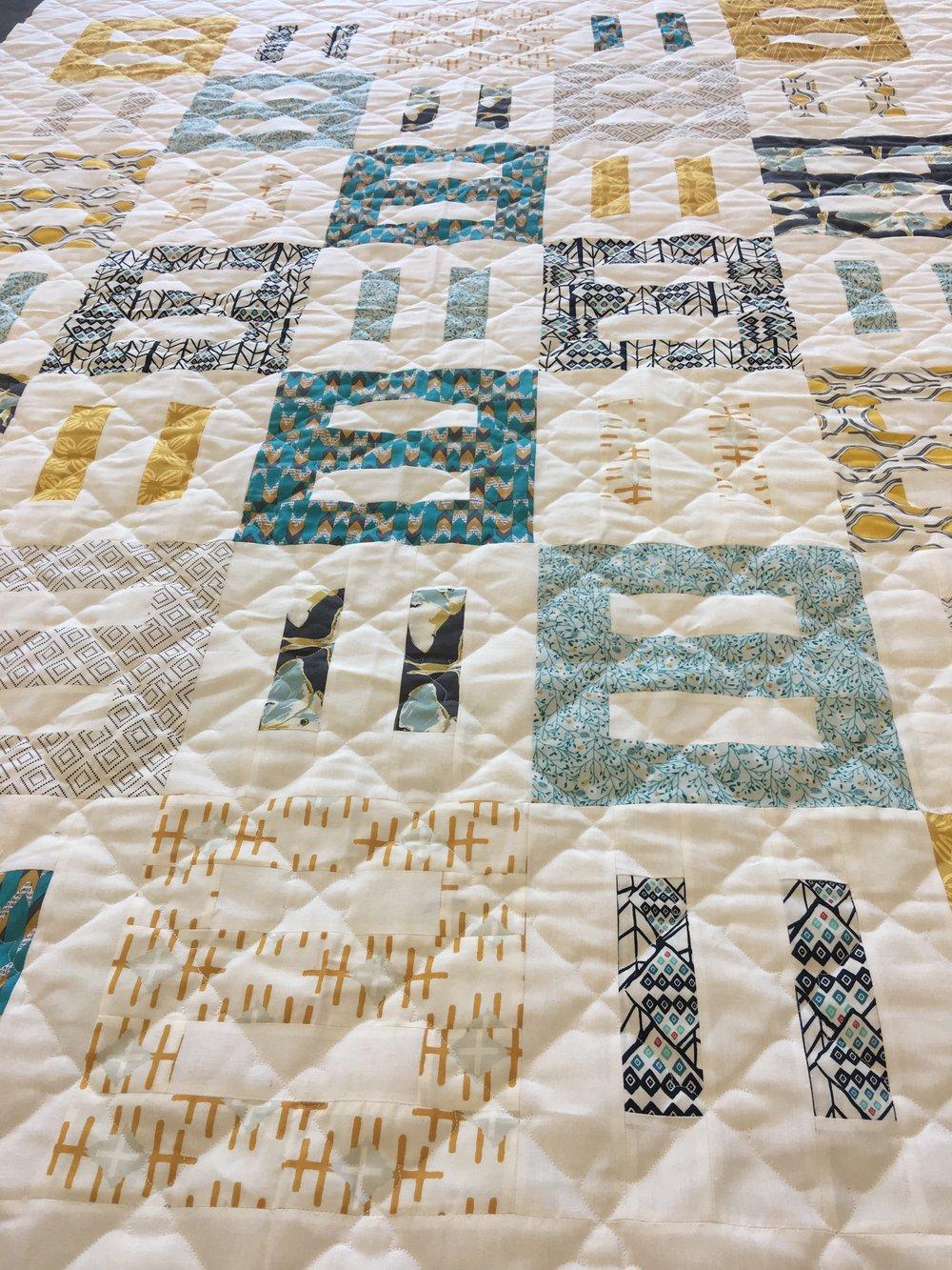 Quilting Design: Mediterranean Tile