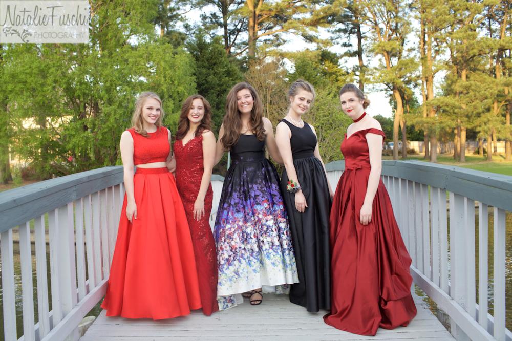 Germantown girls before prom