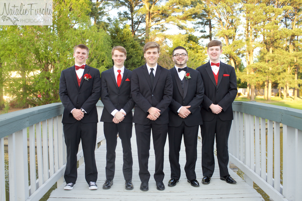 Senior guys before prom