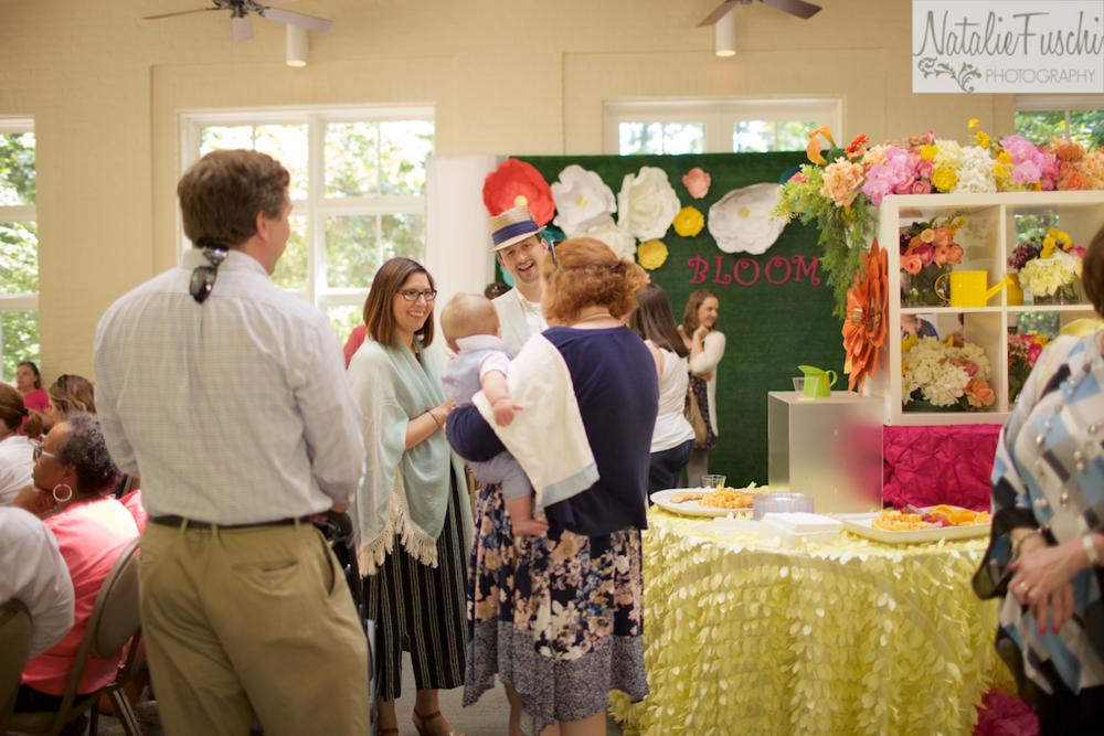 Parents mingle at Memphis Bloom