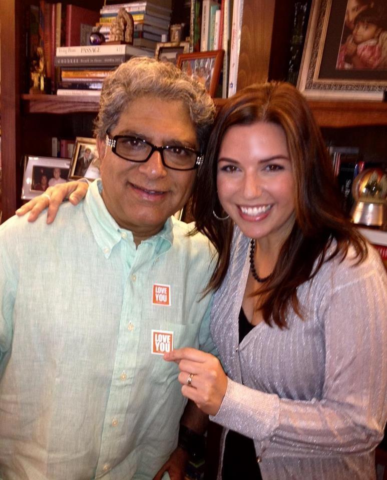Dr. Deepak Chopra and Amanda Ree Ringnalda